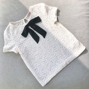 Juicy Couture Black Label Lace Tee